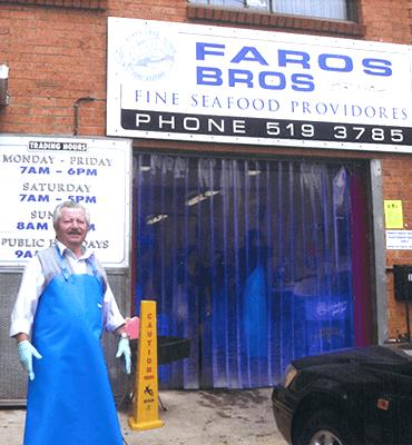 Faros Bros Seafood Providores Marrickville