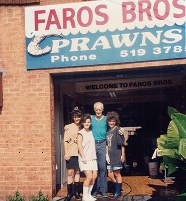 Faros Bros Prawns & Seafood Shop