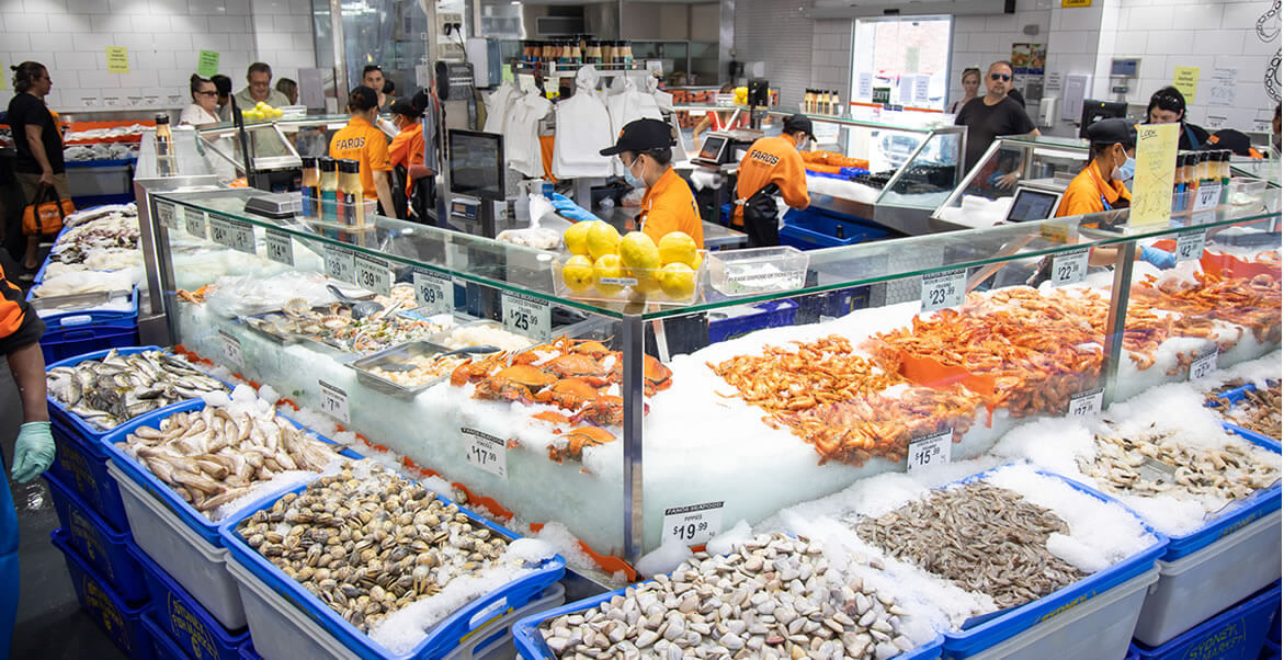 Faros Bros Seafood Marrickville